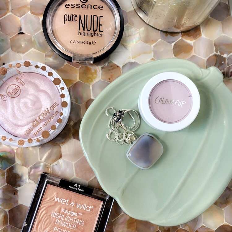 Current Favorites – Drugstore Powder Highlighters