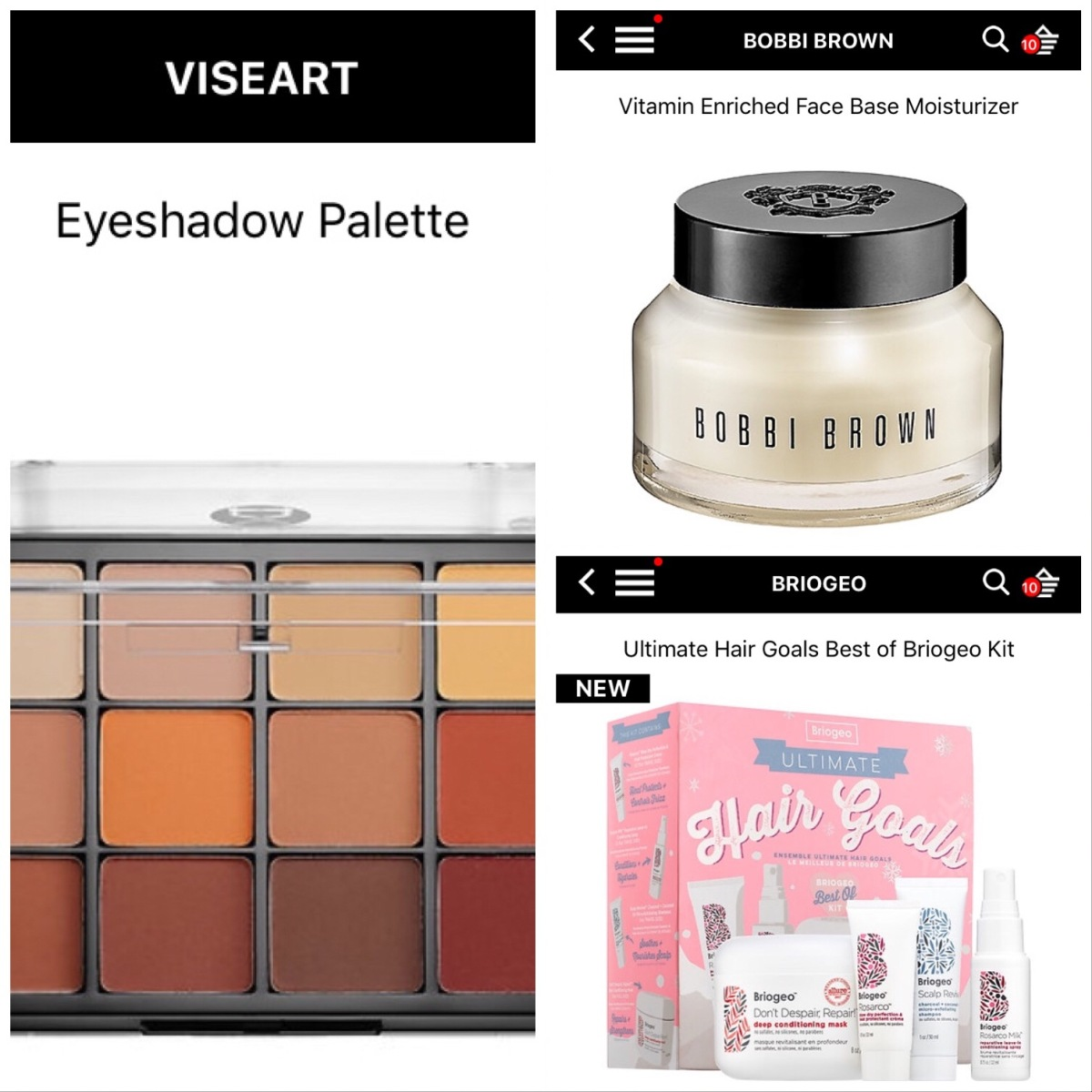 Sephora VIB Sale Cart Fall 2017