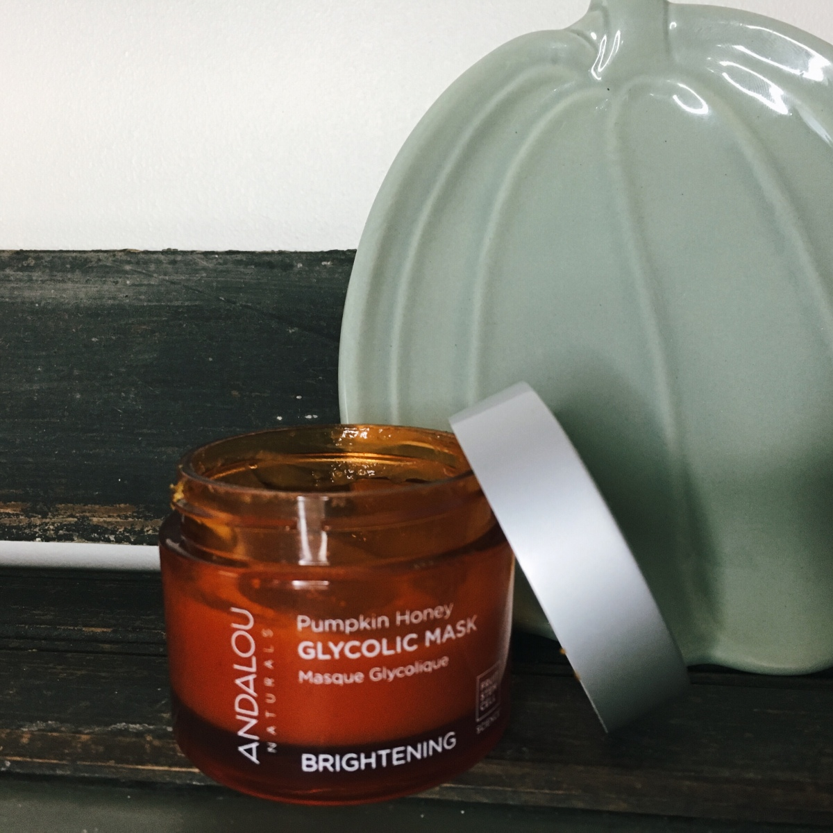 Andalou Naturals – Pumpkin Honey Glycolic Mask – Review