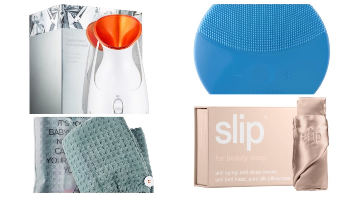 Best Amazon Beauty Dupes | Foreo, Slip, Dr Dennis Gross,Aquis