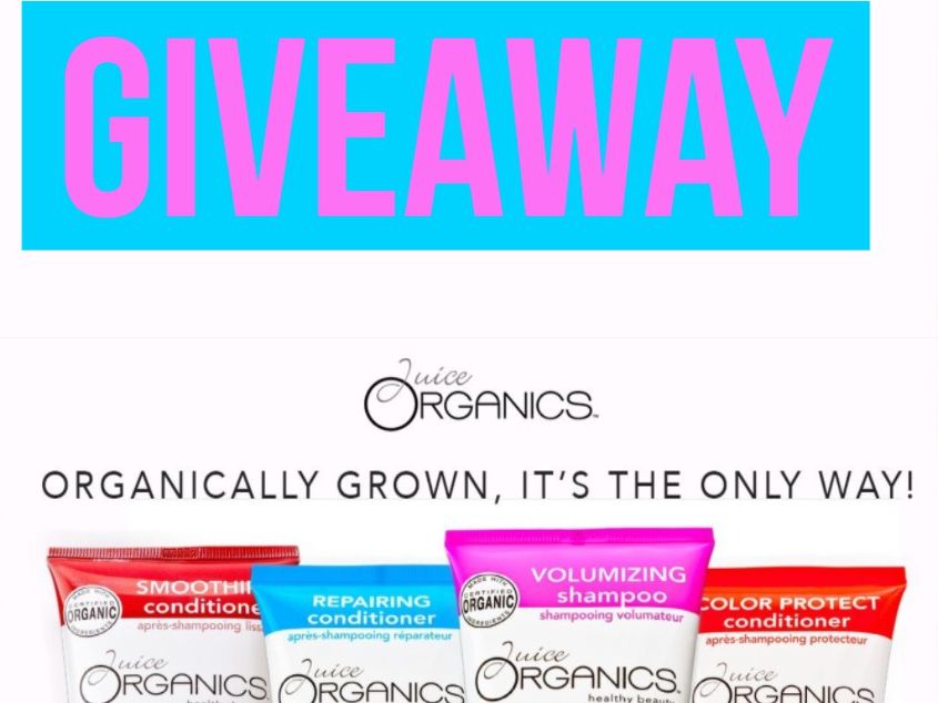 GIVEAWAY | Juice Organics | Vegan, Cruelty Free Hair Care